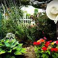Blissful Garden by Trudy Wilkerson
