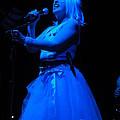 Blondie Blue by David Peters