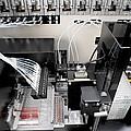 Blood Analysis Machine by Tek Image