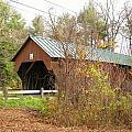 Blow-me-down Covered Bridge by Wayne Toutaint