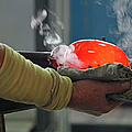 Blowing Glass IIi by Suzanne Gaff