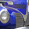 Blue And Chrome Nose by Randy Harris