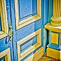 Blue And Yellow Door by Marilyn Hunt