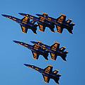 Blue Angels Delta by Ken Naylor