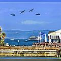 Blue Angels San Francisco Wharf by Blake Richards