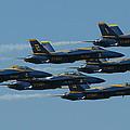 Blue Angels Take 6 by Samuel Sheats