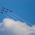 Blue Angels Up And Away by Mark Dodd