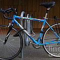 Blue Bicycle . 7d10157 by Wingsdomain Art and Photography