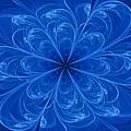 Blue Bloom by Sandy Keeton