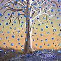 Blue-blossomed Wishing Tree by Alys Caviness-Gober