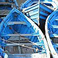 Blue Boats by Milena Boeva