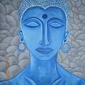 Blue Buddha by Ashish Jha