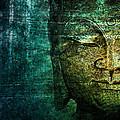 Blue Buddha by Claudia Moeckel