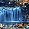 Blue Cascade Falls by Adam Jewell