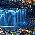 Blue Cascades by Adam Jewell