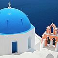 Blue Church Roof by Brian Jannsen