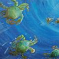 Blue Crab Run by Katheryn Napier