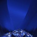 Blue Diamond In Blue Light by Atiketta Sangasaeng