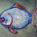 Blue Fish by Jane Williams Clayton