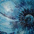 Blue Flower by Julie Cranfill