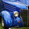 Blue Ghost Flames by Randy Harris