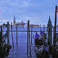 Blue Hour At The Docks Of San Marco by Jeff Rose