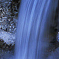 Blue Icy Waterfall by Ulrich Kunst And Bettina Scheidulin