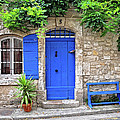 Blue In Provence France by Dave Mills