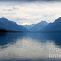 Blue Lake Mcdonald by Carol Groenen