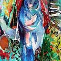Blue Madonna by Mindy Newman