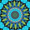 Blue Mandela 102311 by David Lane