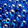 Blue Marbles by Ed Lukas