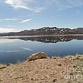 Blue Mesa Reflection by Dirk Barnhart