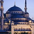 Blue Mosque Exterior by Axiom Photographic