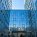 Blue Office by Artin Mikaelyan