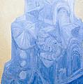 Blue Pagan Church by Kazuya Akimoto
