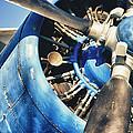 Blue Plane - Antonov 2 by Phseven Photo