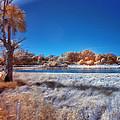 Blue Pond by Skip Nall