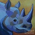 Blue Rhino by Cilla Mays