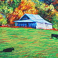 Blue Ridge Cows by Bethany Bryant