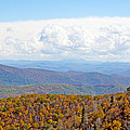 Blue Ridge Mountains In Fall by Kenneth Albin