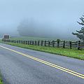 Blue Ridge Parkway At Northwest Trading Post I by Dan Carmichael