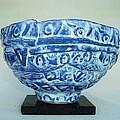 Blue Shaman's Bowl by Dan Boos