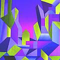 Blue Shift by Giro  Tavitian