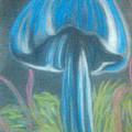 Blue Shroom by Eva Jones