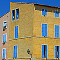 Blue Shutters Martigues France by Dave Mills