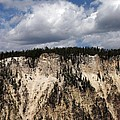 Blue Skies And Grand Canyon In Yellowstone by Living Color Photography Lorraine Lynch