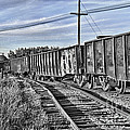 Blue Sky Train2 by Lori Frostad