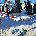 Blue Sledge by Andrew Macara
