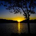Blue Sunset by Robert Brown